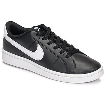 Sko Dame Lave sneakers Nike Court Royale 2 Sort / Hvid
