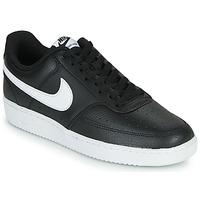 Sko Herre Lave sneakers Nike COURT VISION LOW Sort / Hvid