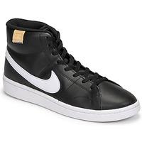 Sko Herre Lave sneakers Nike COURT ROYALE 2 MID Sort / Hvid