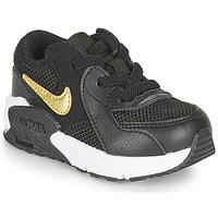 Sko Børn Lave sneakers Nike AIR MAX EXCEE TD Sort / Guld