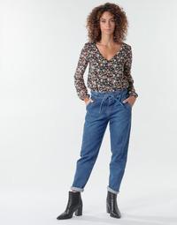 textil Dame Lærredsbukser One Step FR29091_46 Blå