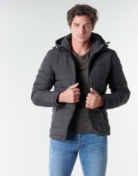 textil Herre Dynejakker Superdry HOODED FUJI JACKET Sort