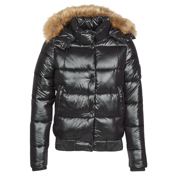 textil Dame Dynejakker Superdry HIGH SHINE TOYA BOMBER Sort