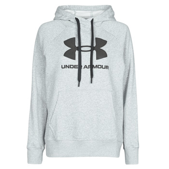 textil Dame Sweatshirts Under Armour RIVAL FLEECE LOGO Grå