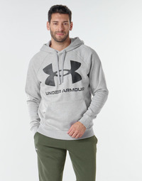 textil Herre Sweatshirts Under Armour UA RIVAL FLEECE BIG LOGO HD Grå / Lys