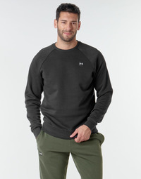 textil Herre Sweatshirts Under Armour UA RIVAL FLEECE CREW Sort