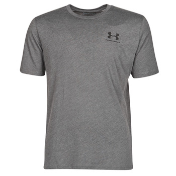 textil Herre T-shirts m. korte ærmer Under Armour SPORTSTYLE LEFT CHEST SS Grå
