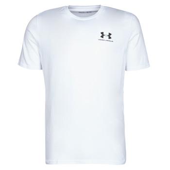 textil Herre T-shirts m. korte ærmer Under Armour SPORTSTYLE LEFT CHEST SS Hvid