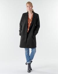 textil Dame Frakker Esprit LL* BASICBLZRCT Sort