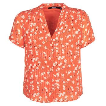 textil Dame Toppe / Bluser Vero Moda VMSOFIE Rød