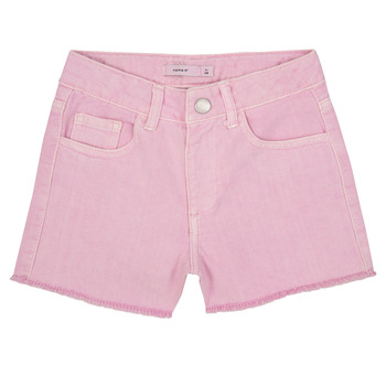 textil Pige Shorts Name it NKFRANDI Pink