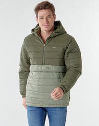 textil Herre Dynejakker Vans CARLTON PUFFER ANORAK II Grøn