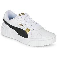 Sko Dame Lave sneakers Puma CALI VARSITY Hvid / Sort