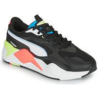 Sko Lave sneakers Puma RS-X3 Sort / Hvid / Koral