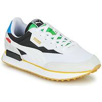 Sko Lave sneakers Puma FUTURE RIDER Unity Collection Hvid / Sort