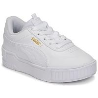 Sko Pige Lave sneakers Puma CALI SPORT PS Hvid