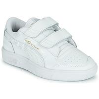 Sko Børn Lave sneakers Puma RALPH SAMPSON LO PS Hvid
