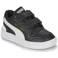 Sko Børn Lave sneakers Puma RALPH SAMPSON LO INF Sort / Hvid