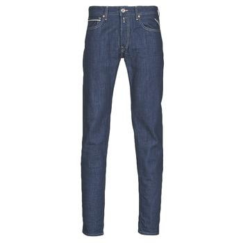 textil Herre Lige jeans Replay GROVER Blå / Mørk