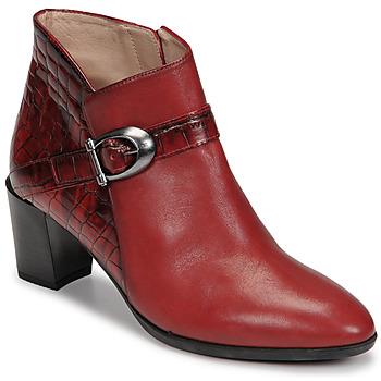 Sko Dame Høje støvletter Hispanitas PIRINEO Rød