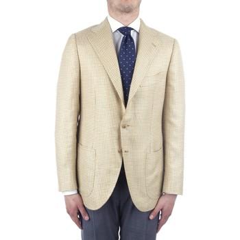 textil Herre Jakker / Blazere Cesare Attolini S20MA43 Yellow