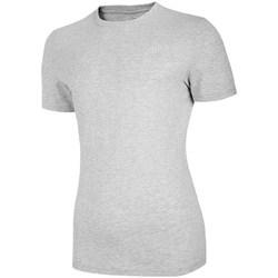 textil Dame T-shirts m. korte ærmer 4F TSM003 Grå