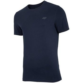 textil Herre T-shirts m. korte ærmer 4F TSM003 Sort