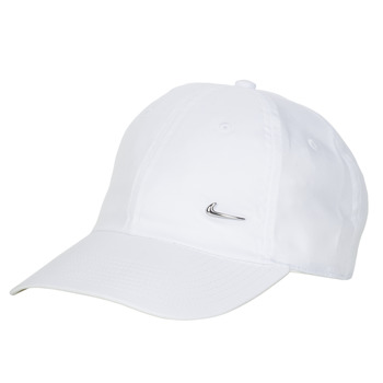 Accessories Kasketter Nike U NSW H86 METAL SWOOSH CAP Hvid / Sølv