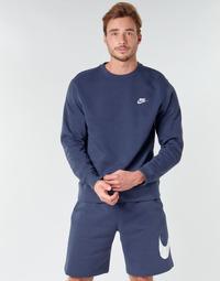 textil Herre Sweatshirts Nike M NSW CLUB CRW BB Blå