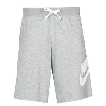 textil Herre Shorts Nike M NSW SCE SHORT FT ALUMNI Grå