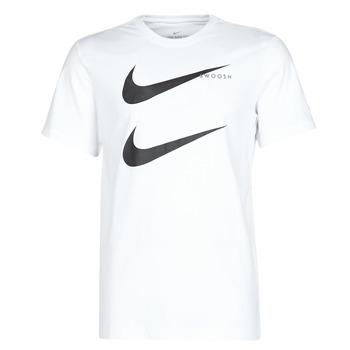 textil Herre T-shirts m. korte ærmer Nike M NSW SS TEE SWOOSH PK 2 Hvid