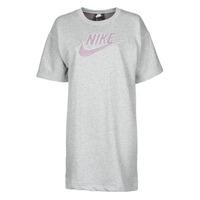 textil Dame Korte kjoler Nike W NSW DRESS FT M2Z Grå