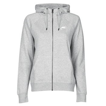 textil Dame Sweatshirts Nike W NSW ESSNTL HOODIE FZ FLC Grå