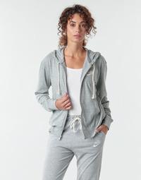 textil Dame Sweatshirts Nike W NSW GYM VNTG HOODIE FZ Grå