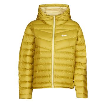textil Dame Dynejakker Nike W NSW WR LT WT DWN JKT Kaki