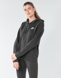 textil Dame Sweatshirts Nike W NSW ESSNTL HOODIE PO FLC Sort