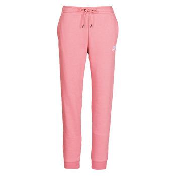 textil Dame Træningsbukser Nike W NSW ESSNTL PANT REG FLC Pink