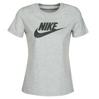 textil Dame T-shirts m. korte ærmer Nike W NSW TEE ESSNTL ICON FUTUR Grå