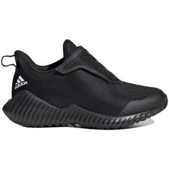 Sko Børn Løbesko adidas Originals Fortarun AC K Sort