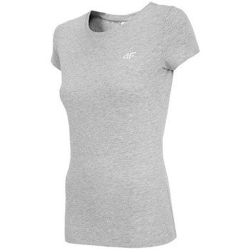 textil Dame T-shirts m. korte ærmer 4F TSD001 Grå