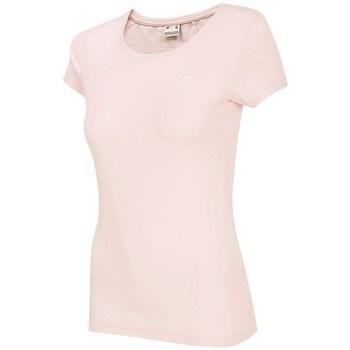 textil Dame T-shirts m. korte ærmer 4F TSD001 Pink