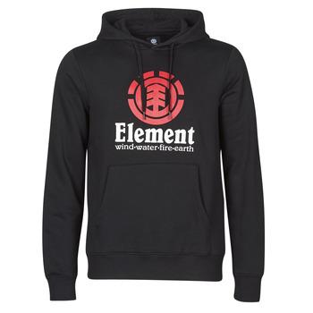 textil Herre Sweatshirts Element VERTICAL HOOD Sort