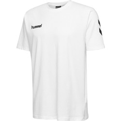 textil Børn T-shirts m. korte ærmer Hummel T-shirt enfant  hmlGO cotton blanc