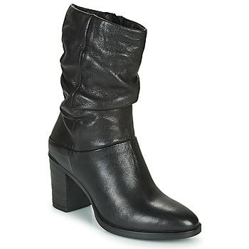 Sko Dame Chikke støvler Dream in Green NORGE Sort