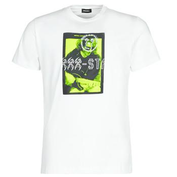 textil Herre T-shirts m. korte ærmer Diesel T-DIEGO J1 Hvid