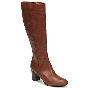 Sko Dame Chikke støvler Fericelli NAVAROIS Kamel