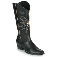 Sko Dame Chikke støvler Fericelli NISCOME Sort / Guld