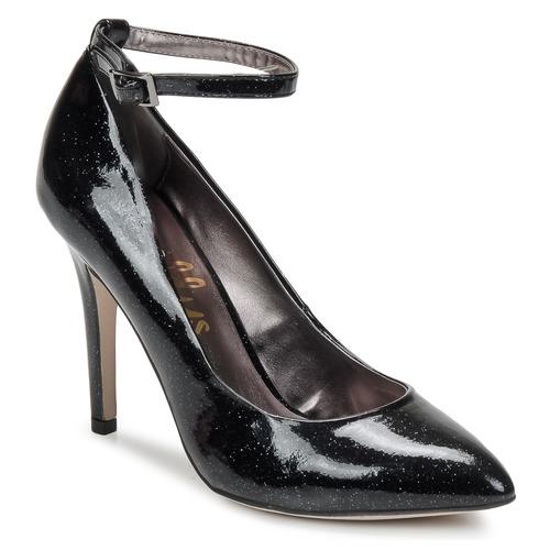 Sko Dame Højhælede sko Shellys London STAR Sort / Glitter