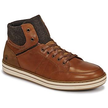 Sko Herre Høje sneakers Casual Attitude NOURDON Kamel