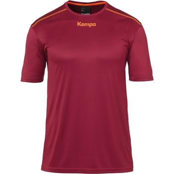 textil Dreng T-shirts m. korte ærmer Kempa Maillot  Poly rouge